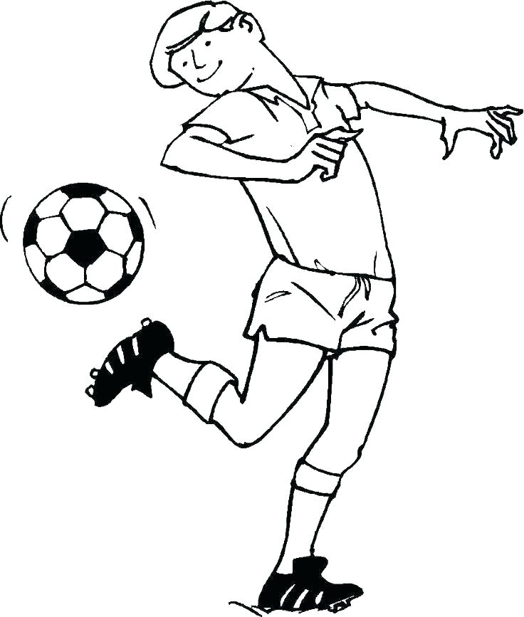 barbie soccer coloring pages