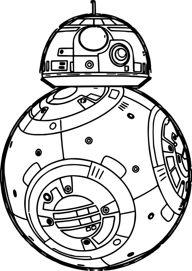 bb8 color page free