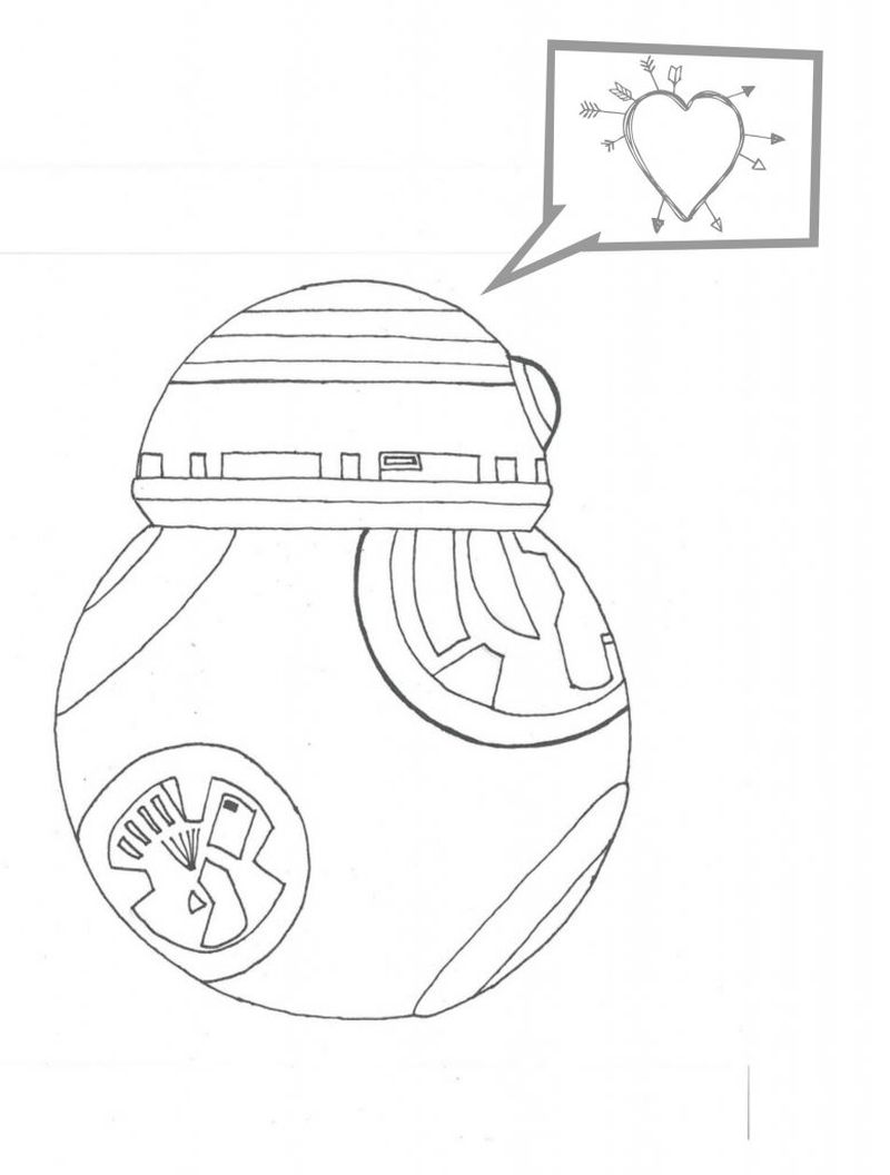 bb8 coloring pages printable free