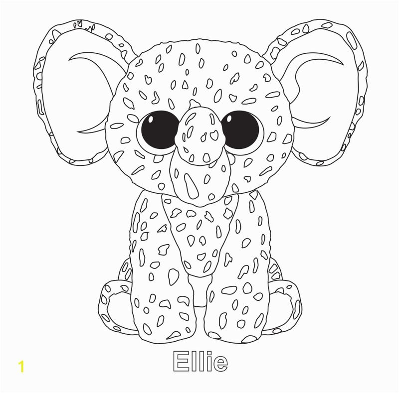 beanie boo coloring pages that you can print