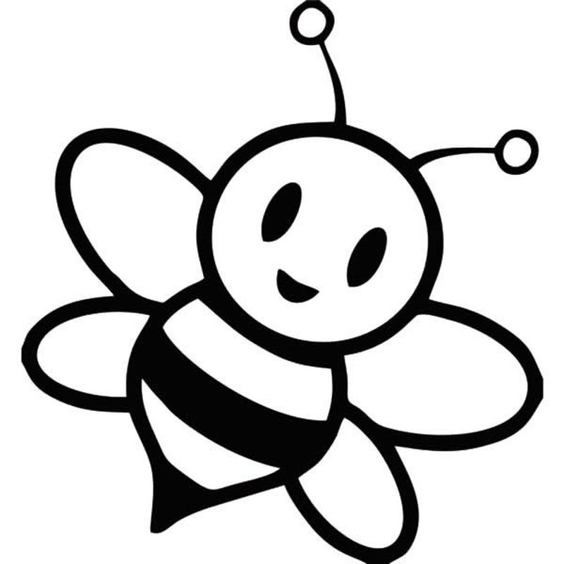 bee coloring pages adults