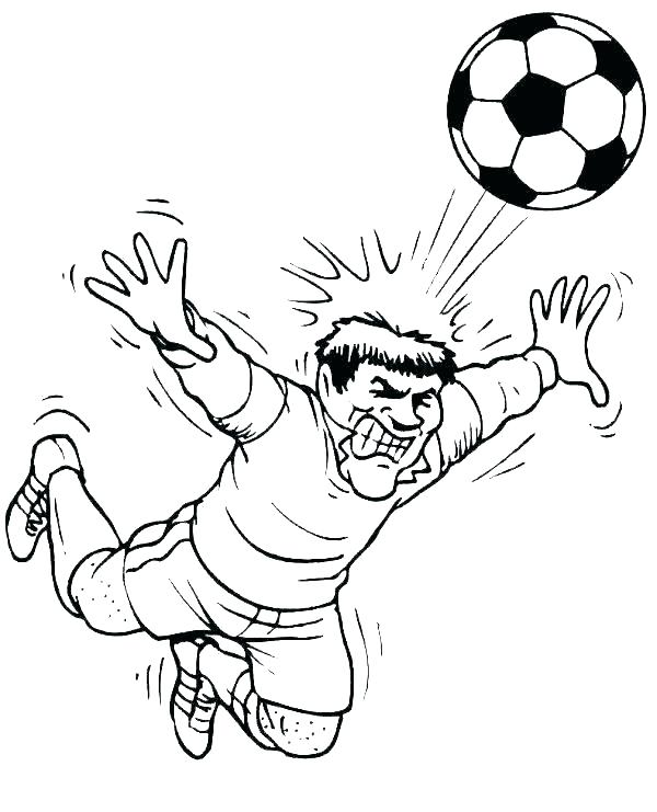 best soccer coloring pages