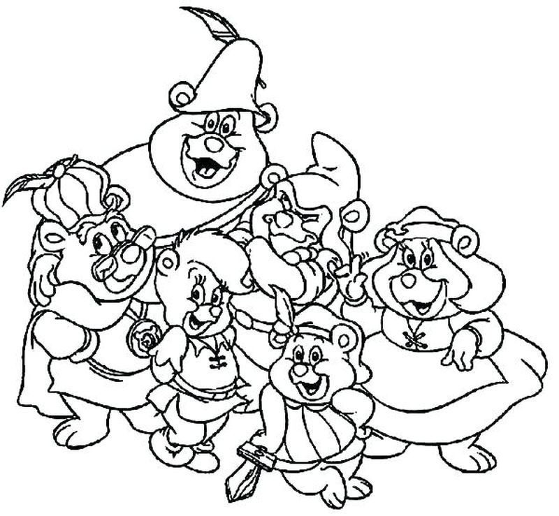 birthday care bear coloring pages