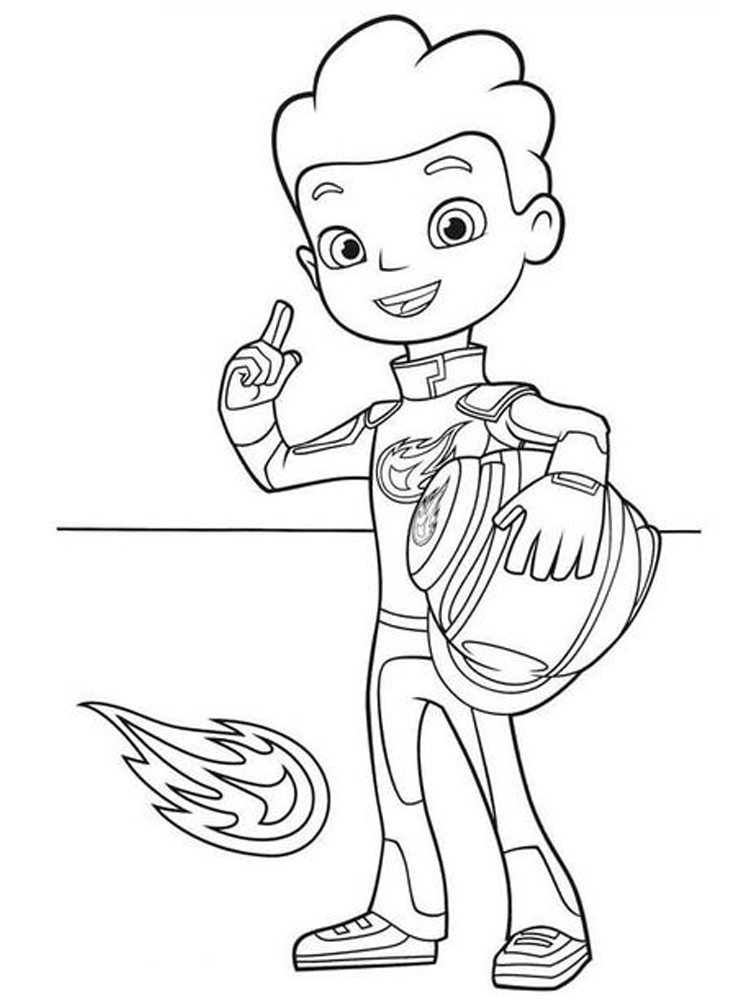 blaze and the monster machines coloring pages to download sheet