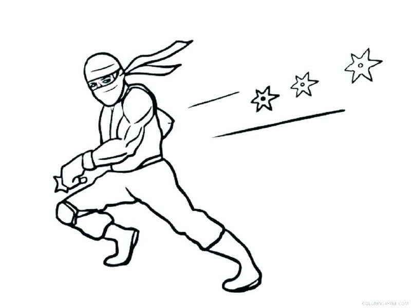 blue ninja turtle coloring pages