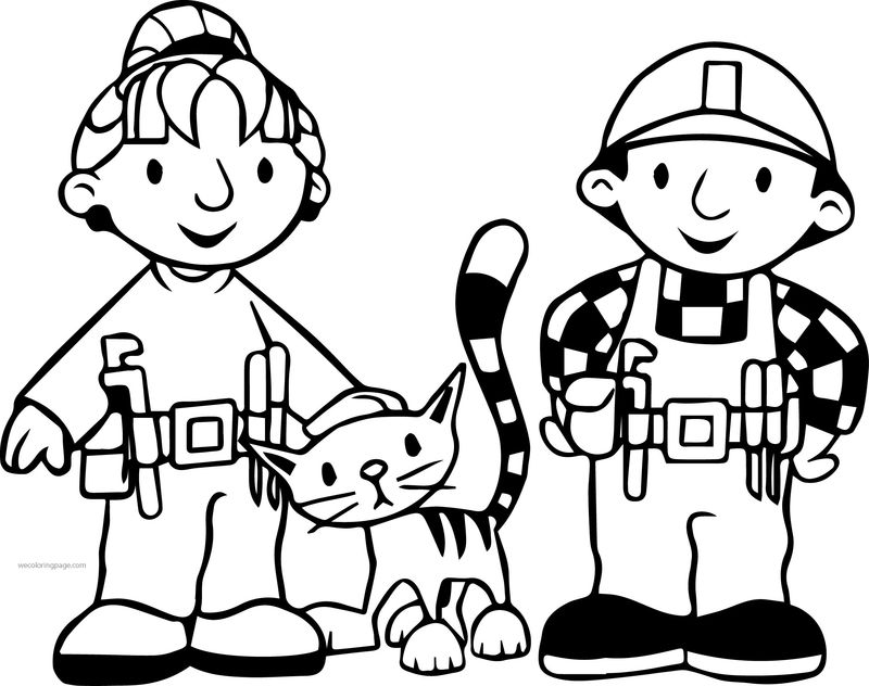 bob the builder coloring pages dizzy