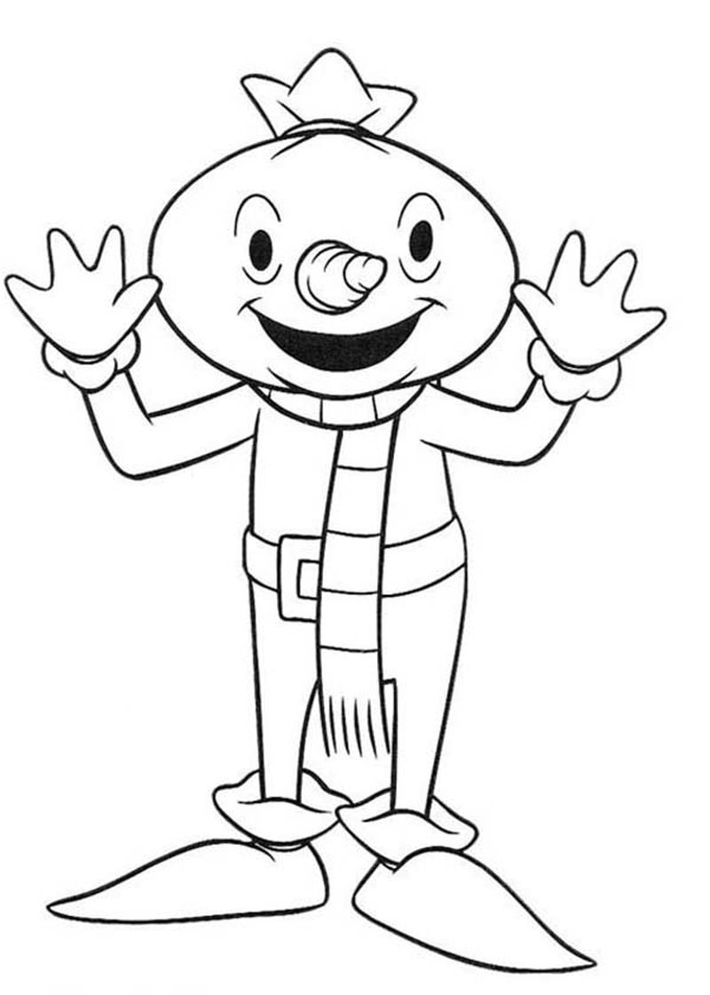 bob the builder lofty coloring pages