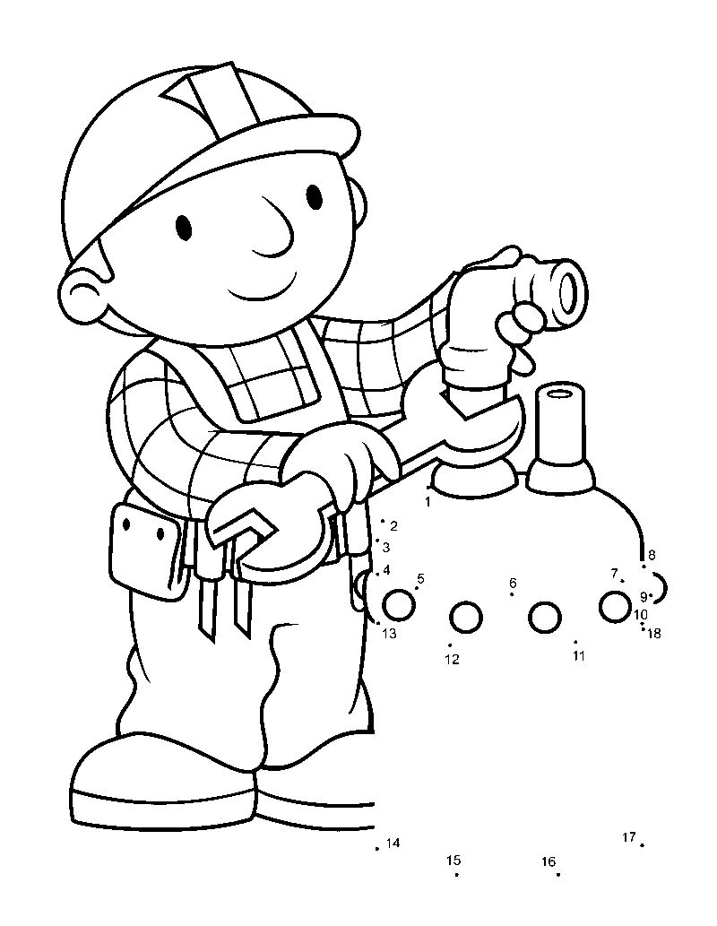 bob the builder muck coloring pages