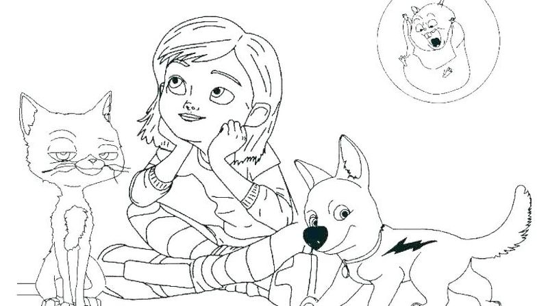 bolt coloring pages printable