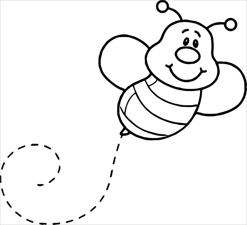 bumblebee coloring pages pdf
