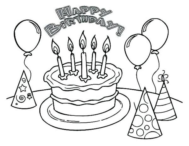 cake cooking coloring pages