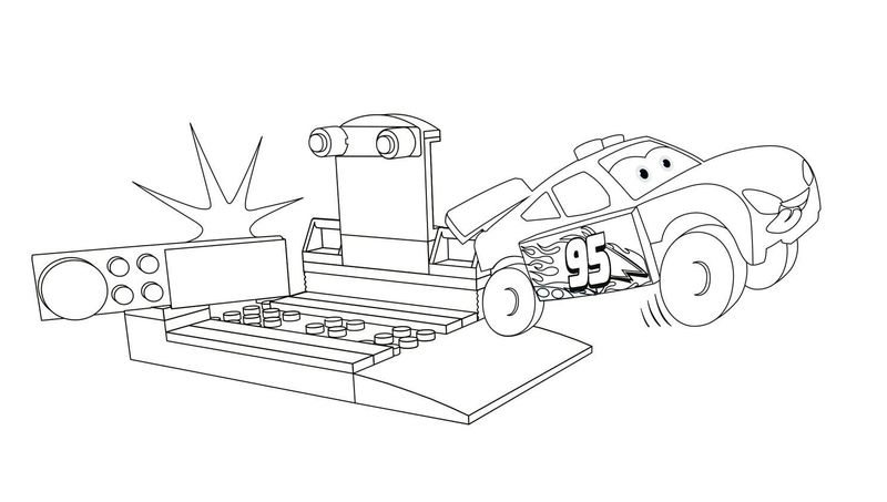 cars 3 colouring pages pdf