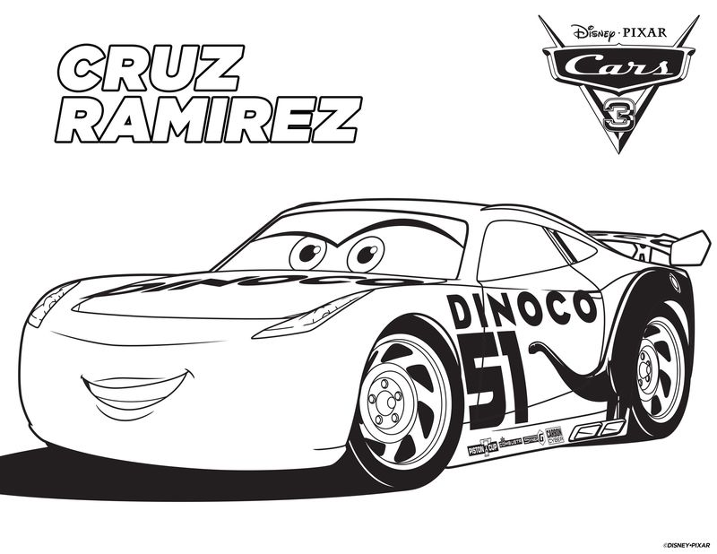 cars 3 jackson storm colouring pages