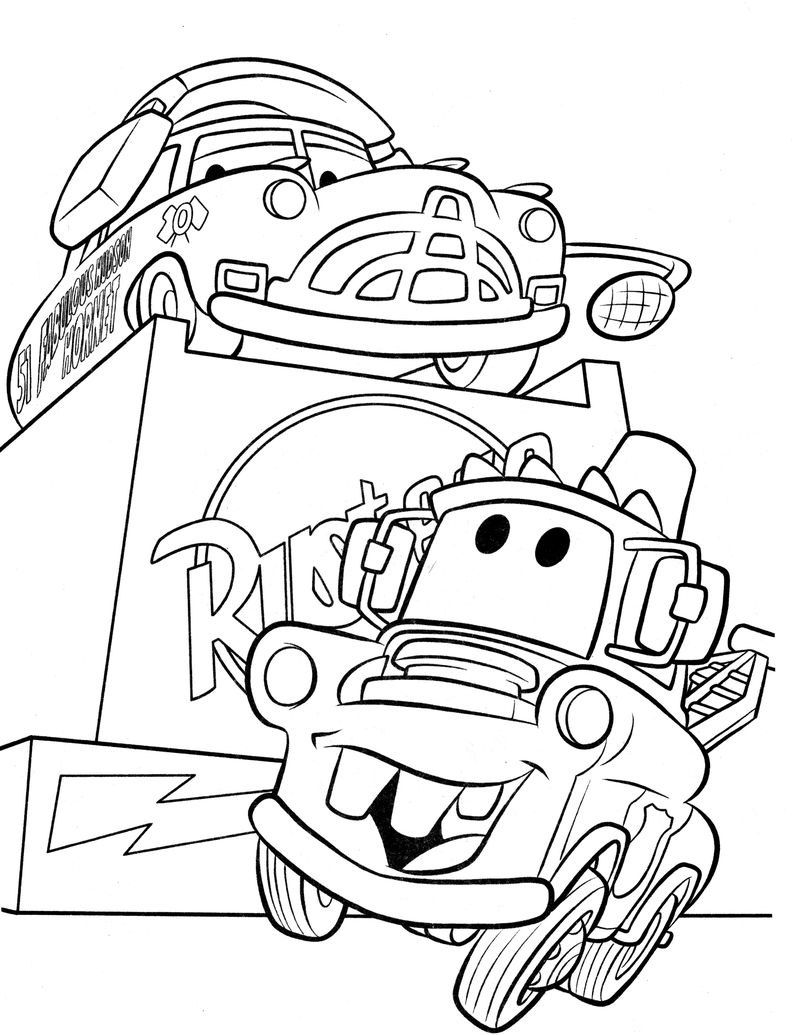 cars 3 movie coloring pages