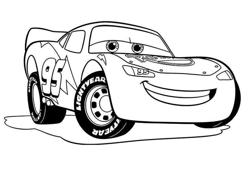 cars 3 thunder hollow coloring pages