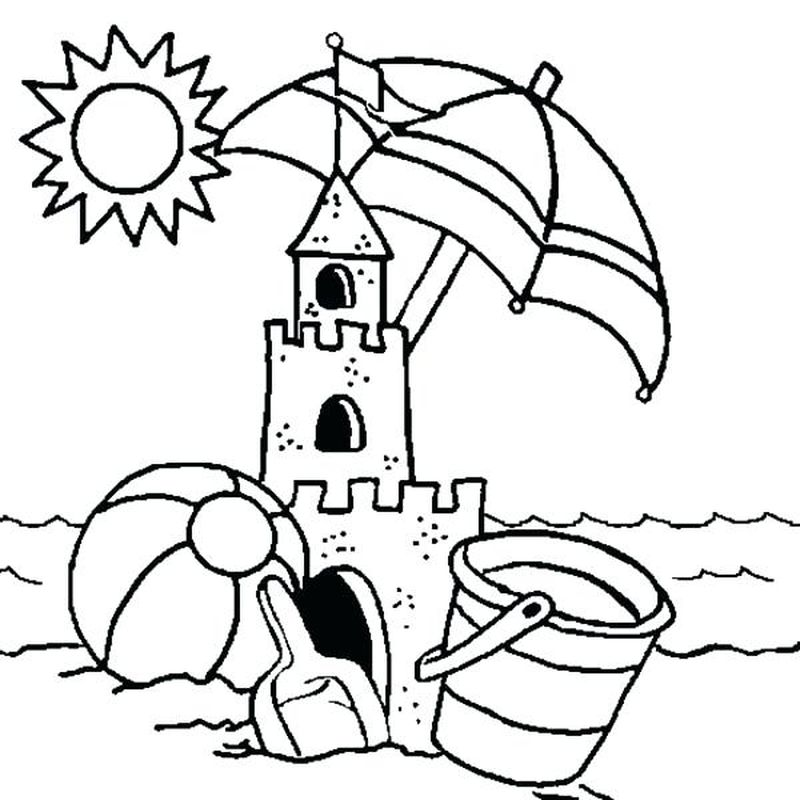 castle coloring sheets free