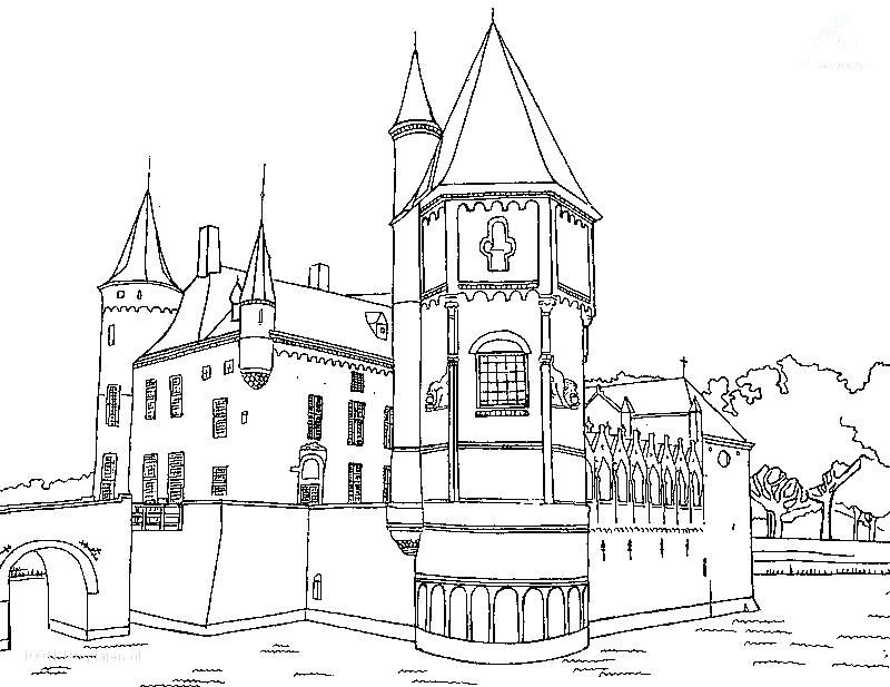 castle in the sky coloring pages