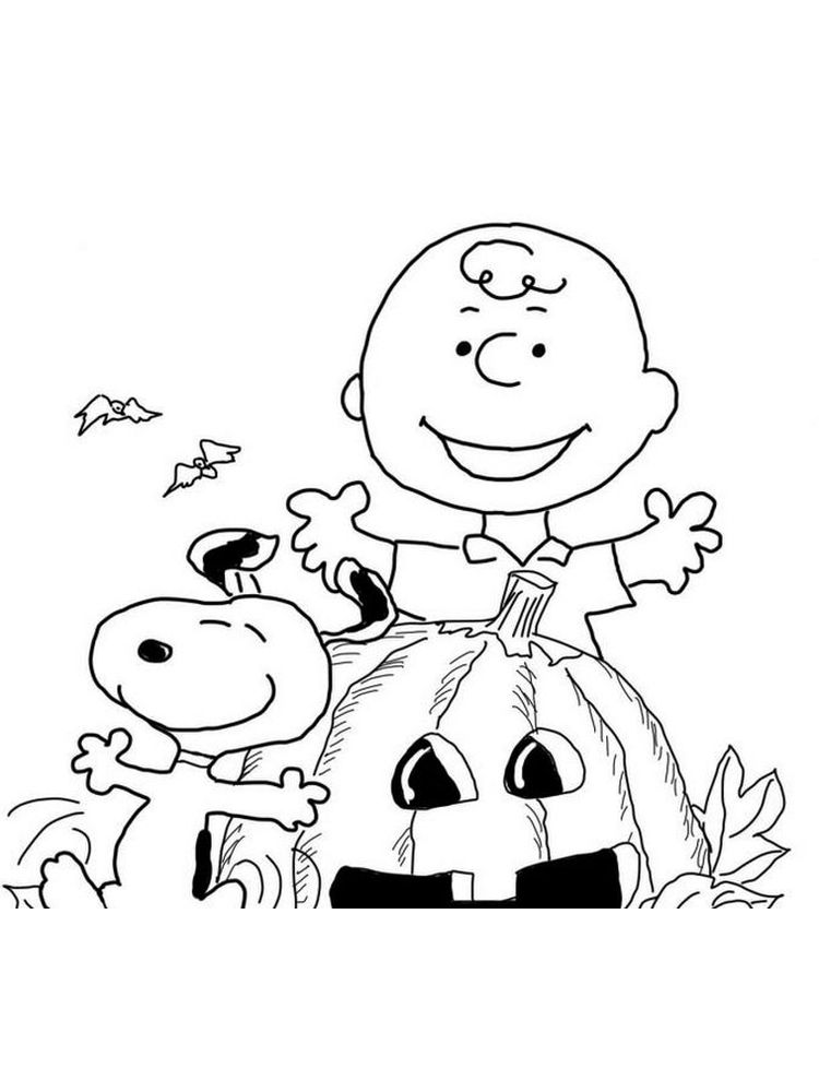 charlie brown and lucy coloring pages