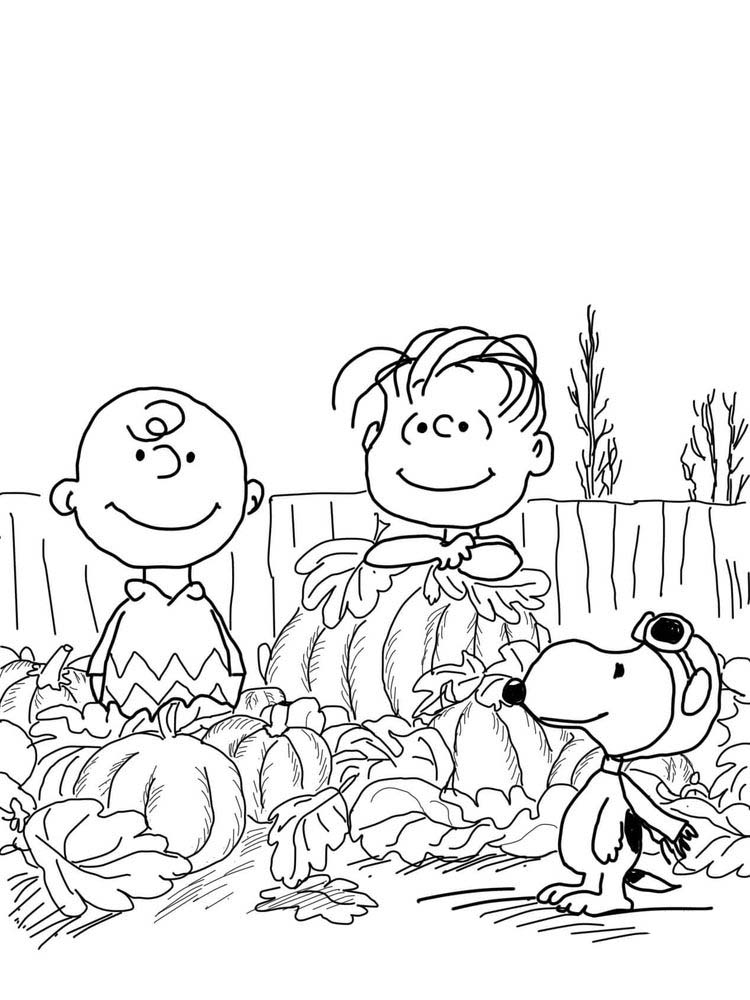 charlie brown coloring pages online