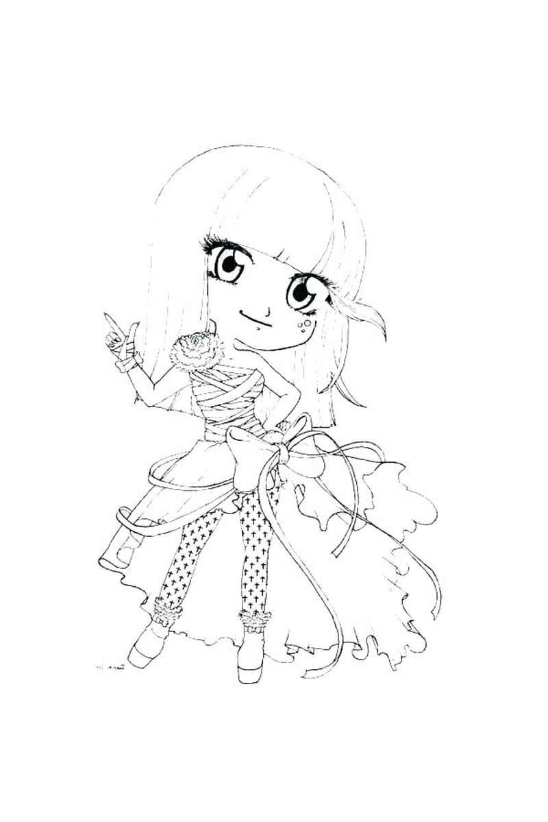 chibi avengers coloring pages