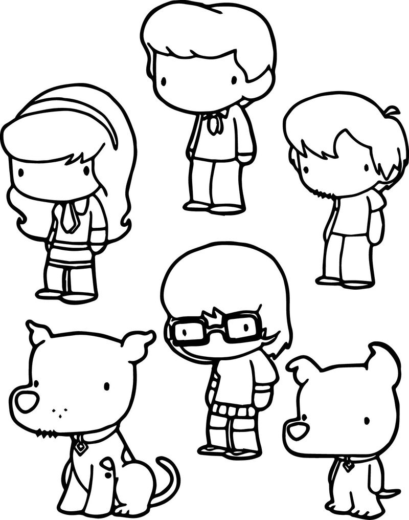 chibi boy coloring pages