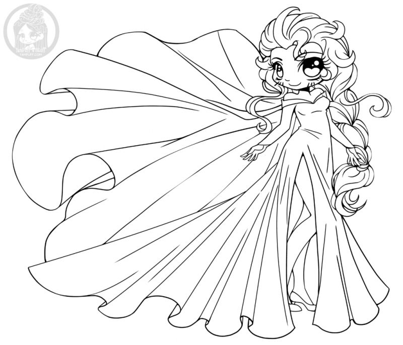 chibi cat coloring pages