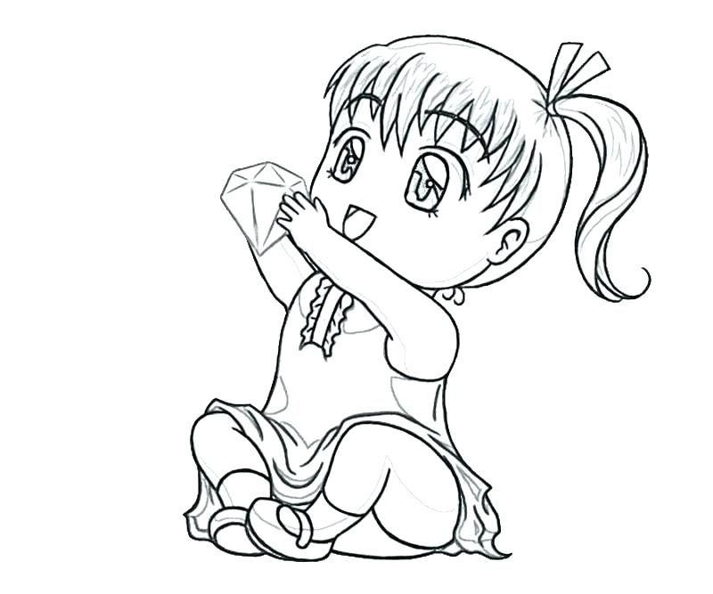 chibi coloring pages to print