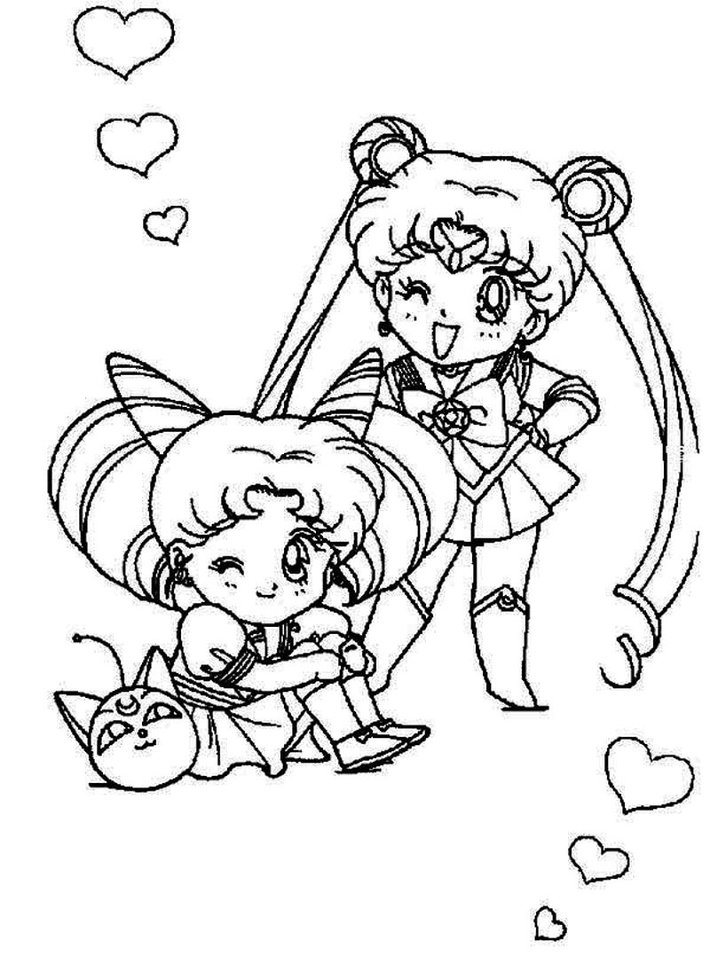 chibi harley quinn coloring pages 1