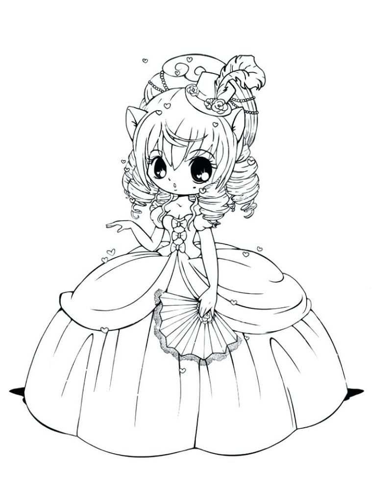 chibi moon coloring pages