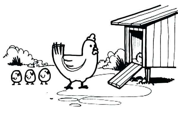 chicken drumstick coloring pages