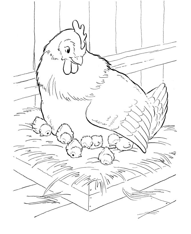chicken nuggets coloring pages
