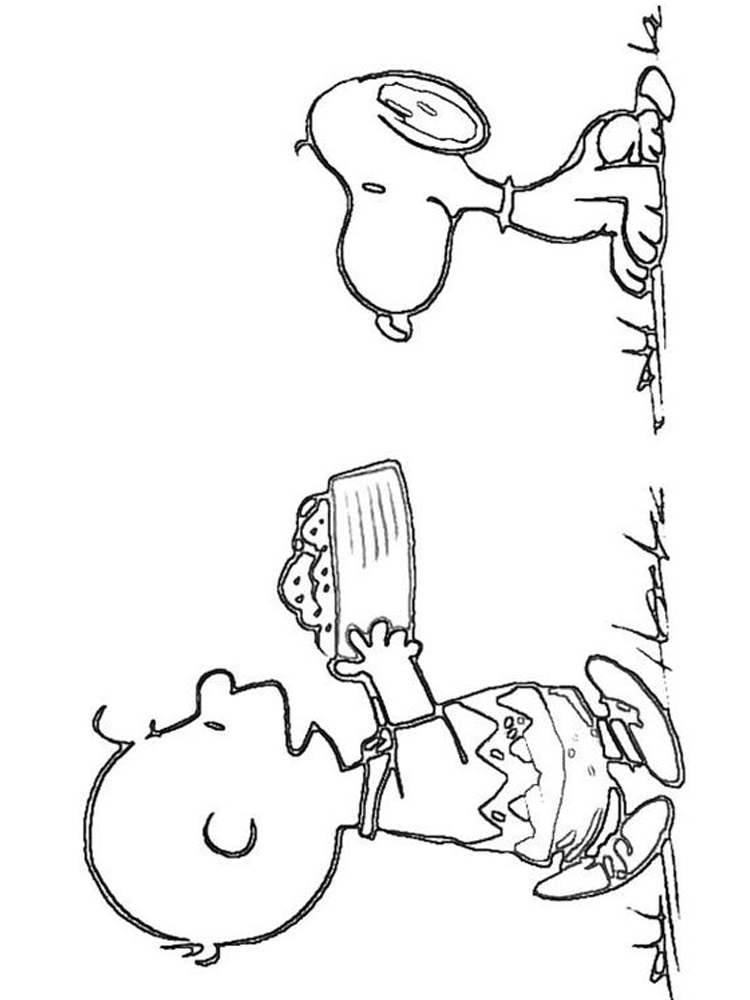 coloring pages charlie brown halloween