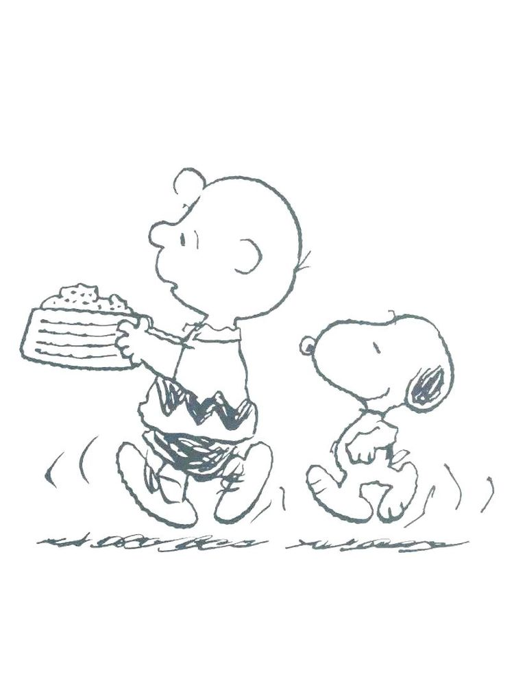 coloring pages charlie brown
