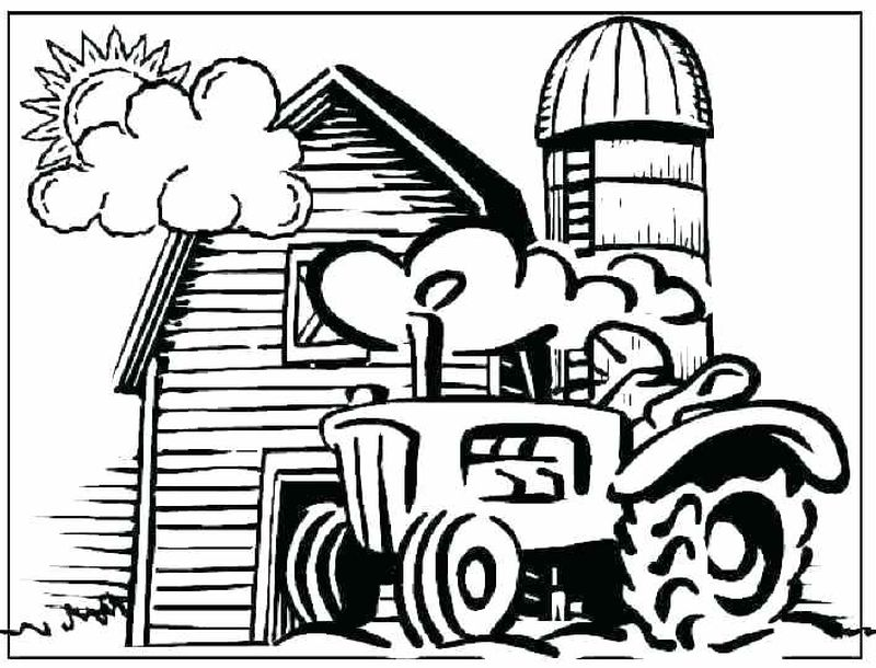 coloring pages farm animals and their babies