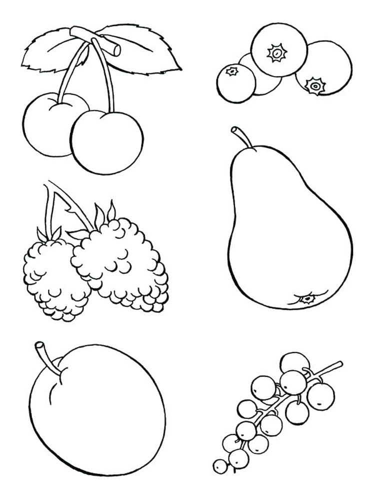 coloring pages food and drinks