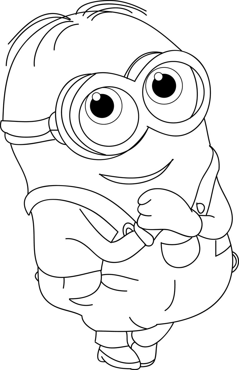 coloring pages for minions