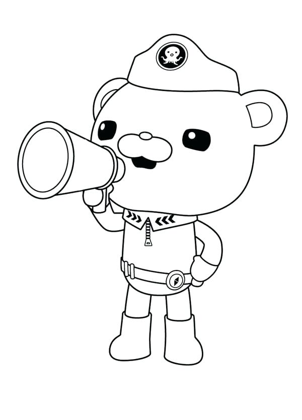 coloring pages for octonauts