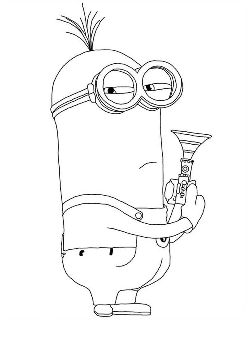 coloring pages gru minions