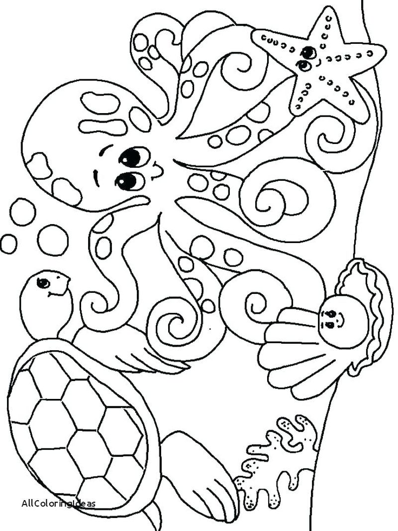 coloring pages ocean and beach