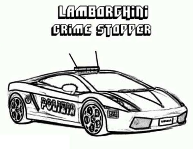 coloring pages of lamborghini cars