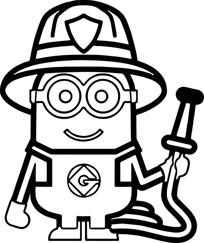 coloring pages of minions from despicable me
