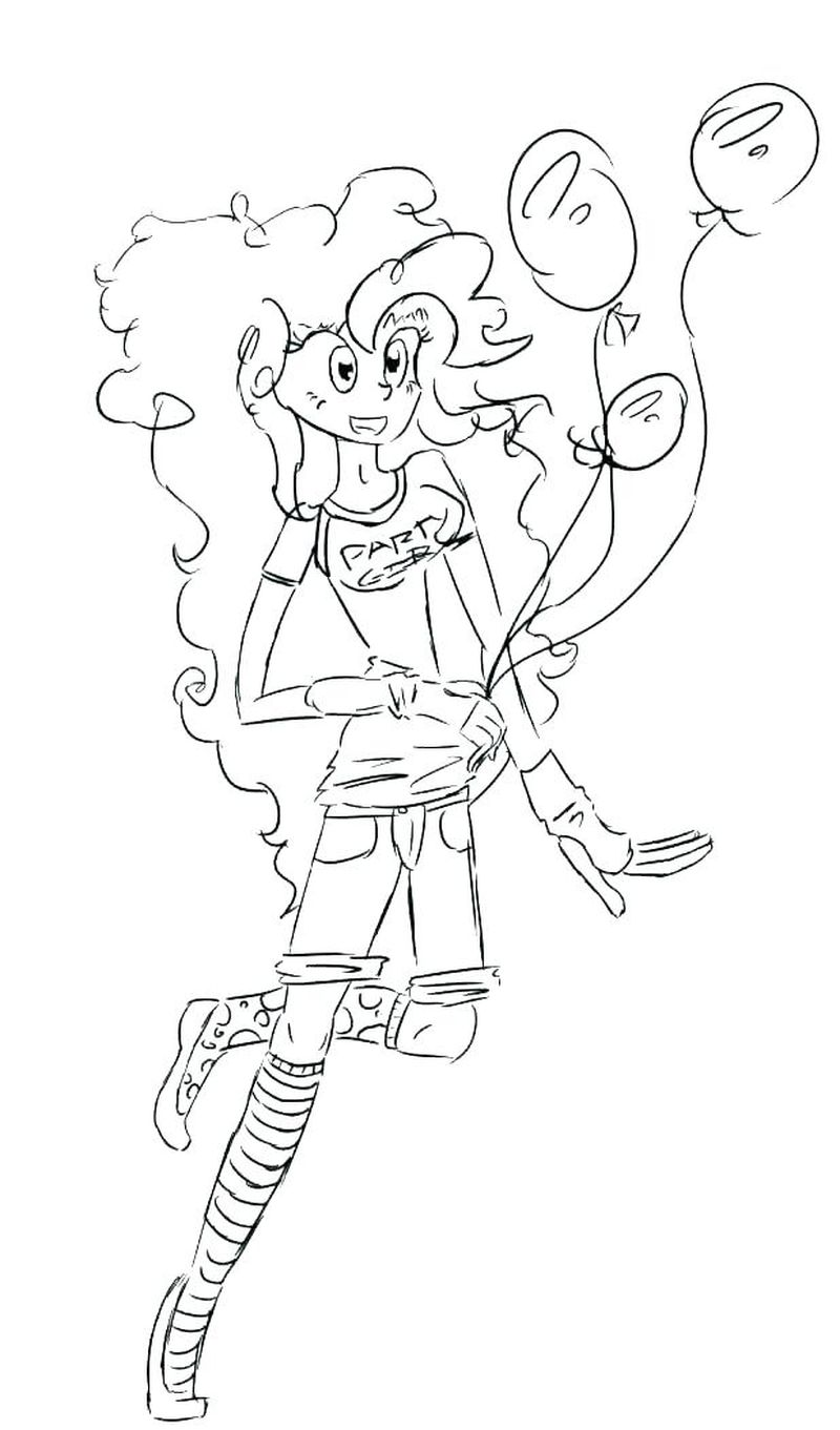 coloring pages rainbow dash equestria girl