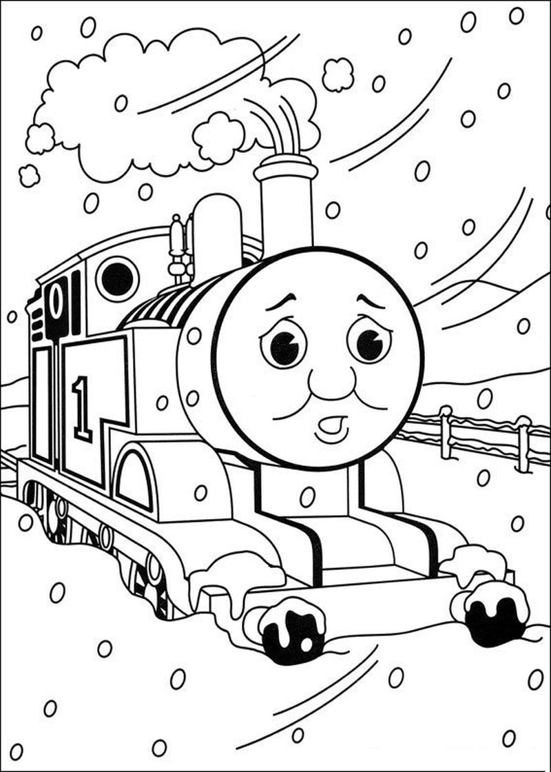 coloring pages thomas the train and friends