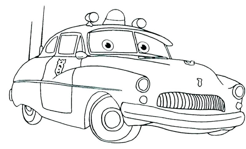 colouring in pages cars 3