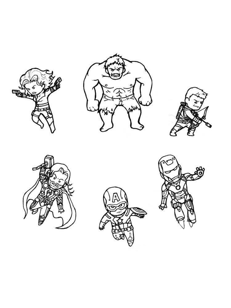 cool avengers coloring pages pdf