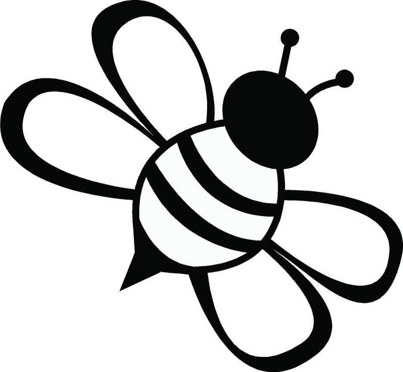 cool bee coloring pages