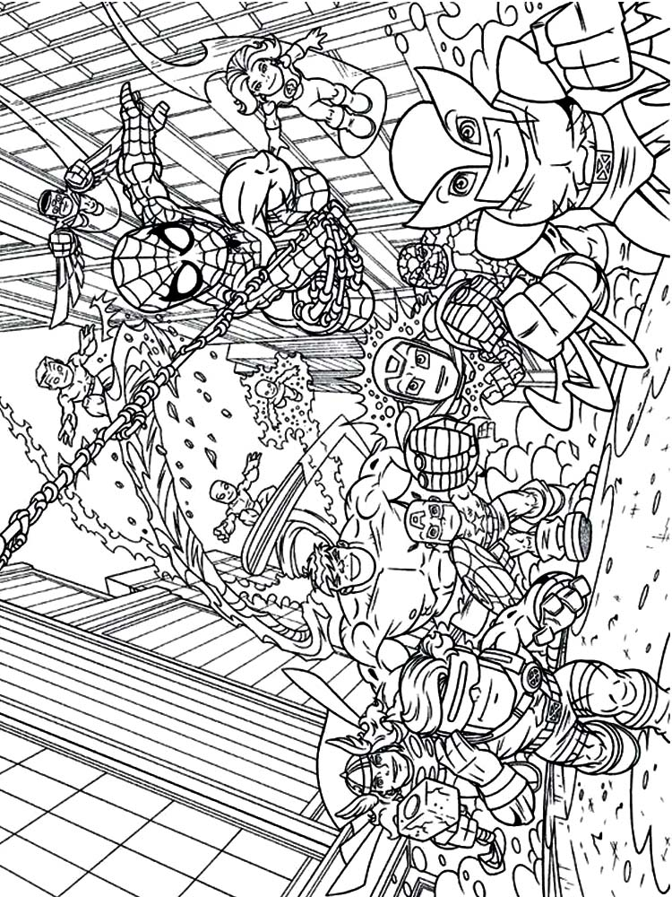crayola avengers coloring pages pdf