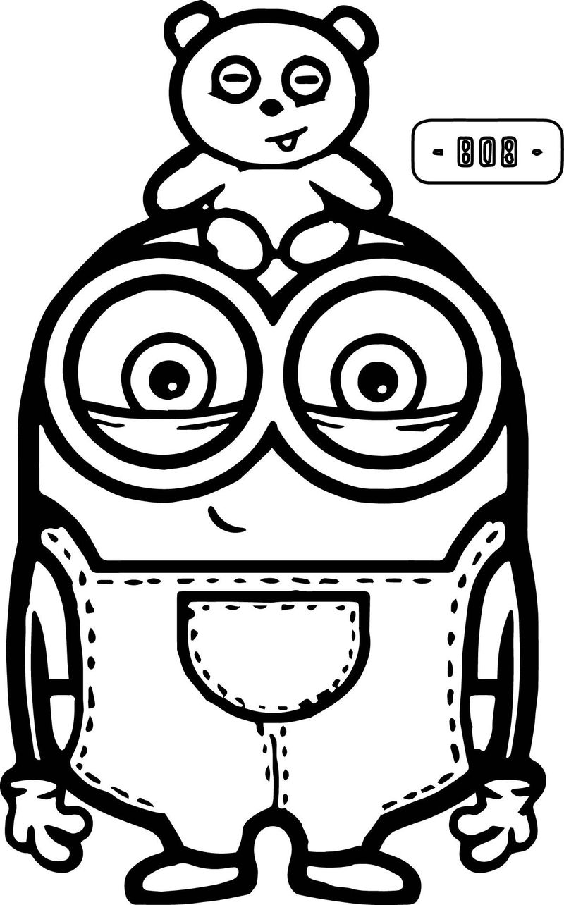 crayola minions coloring pages