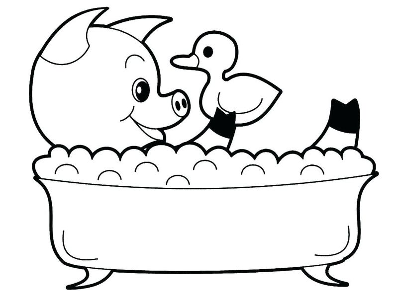 cute baby animal coloring pages printable