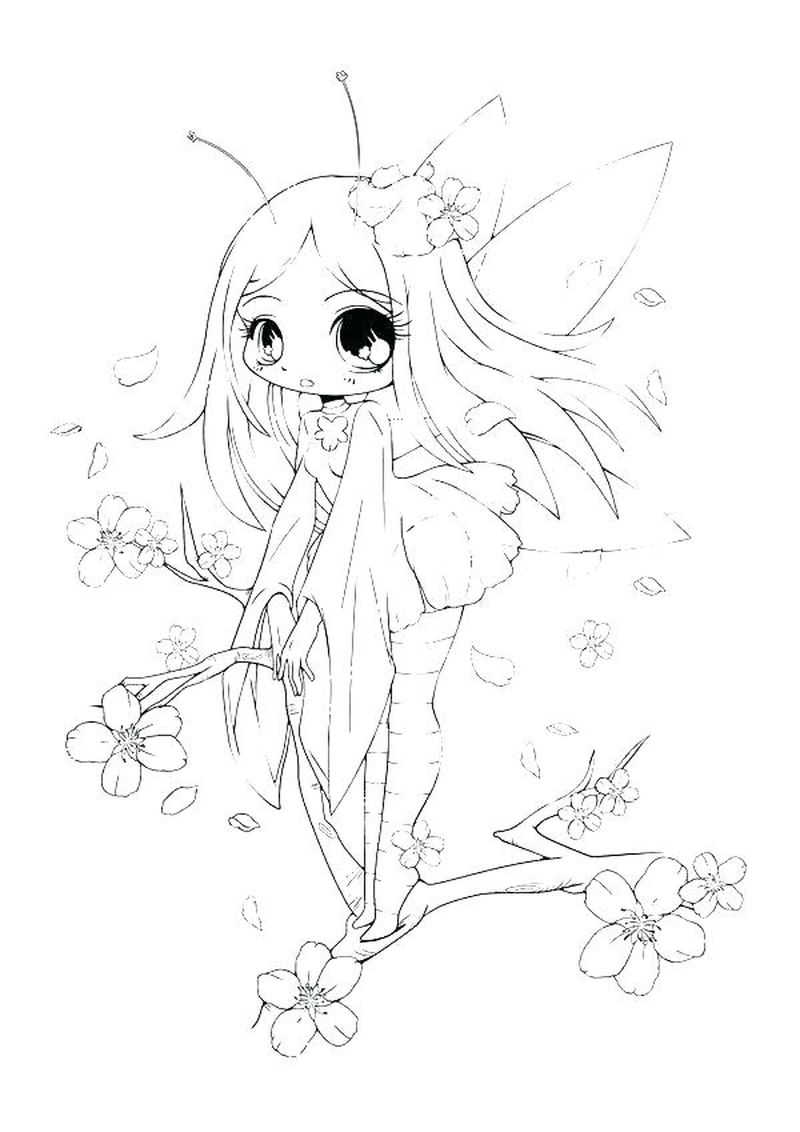 cute chibi animals coloring pages